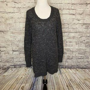 Free People Gray Wool Blend Light Weight Fuzzy